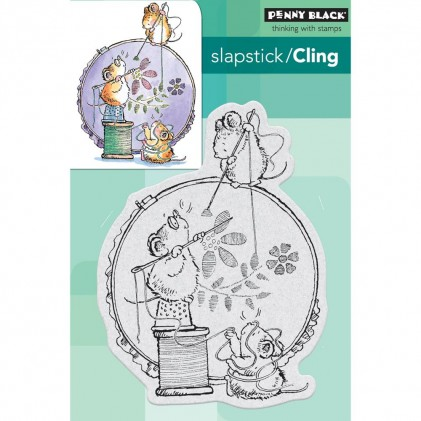 Penny Black Cling Stamps - Stitch In Time
