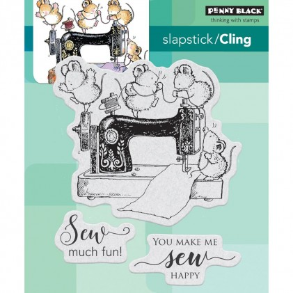 Penny Black Cling Stamps - Sew Much Fun