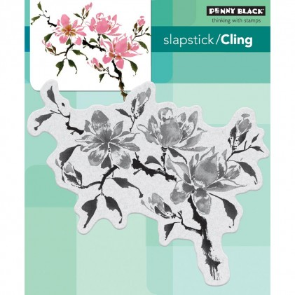 Penny Black Cling Stamps - Magnolia Rhapsody