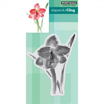 Penny Black Cling Stamps - Amaryllis
