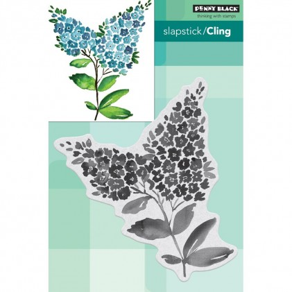 Penny Black Cling Stamps - Lilacs