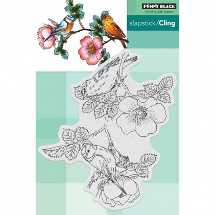 Penny Black Cling Stamps - Melody Makers