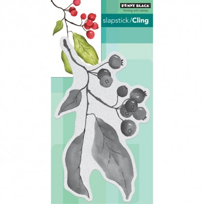 Penny Black Cling Stamps - Christmas Berries
