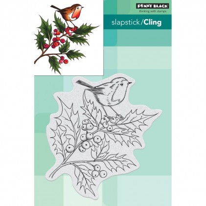 Penny Black Cling Stamps - Cheerful Christmas