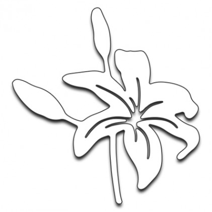 Penny Black Creative Dies Stanzschablone - Tiger Lily II
