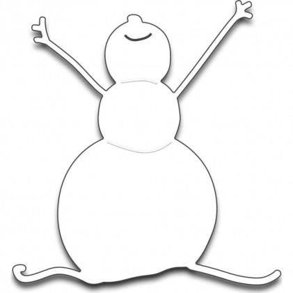 Penny Black Creative Dies Stanzschablone - Snowman Joy