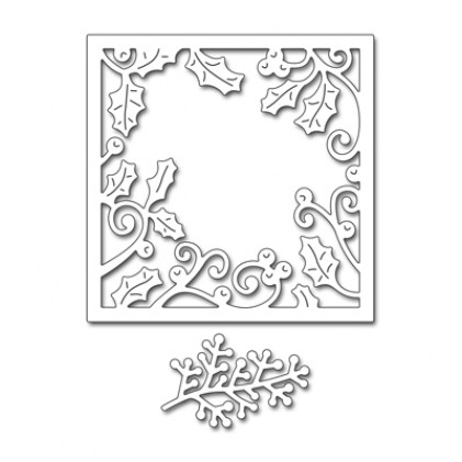 Penny Black Creative Dies Stanzschablone - Holly Frame
