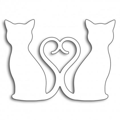 Penny Black Creative Dies Stanzschablone - Kitty Love
