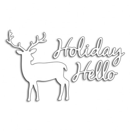 Penny Black Creative Dies Stanzschablone - Holliday Hello