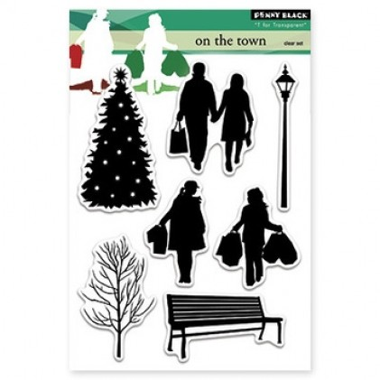 Penny Black Clear Stamps - On the Town