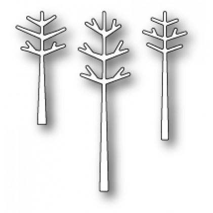 Poppy Stamps Stanzschablone - Stick Trees