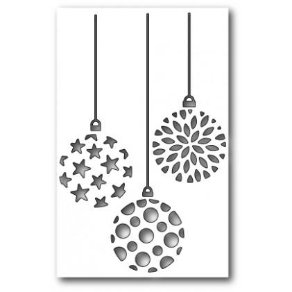 Poppy Stamps Stanzschablone - Ornament Trio Cutout