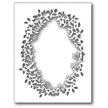 Poppy Stamps Stanzschablone - Leafy Frame