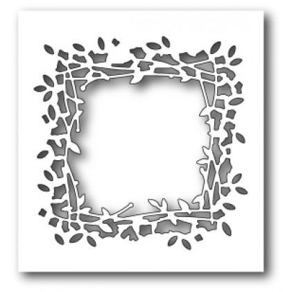 Poppy Stamps Stanzschablone - Leaf Window