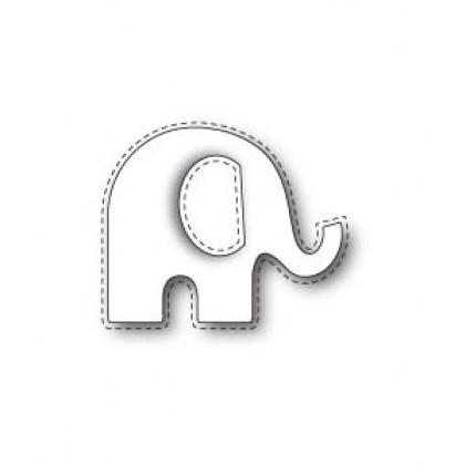 Poppy Stamps Stanzschablone - Stitched Elephant