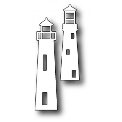 Poppy Stamps Stanzschablone - Seaside Lighthouses