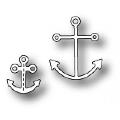 Poppy Stamps Stanzschablone - Anchors Away