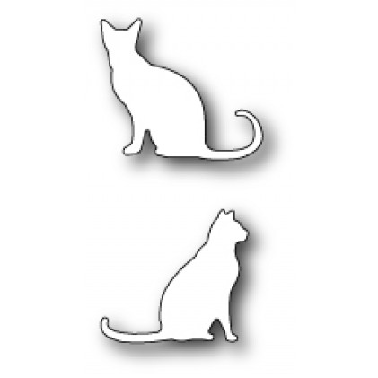 Poppy Stamps Stanzschablone - Neighborly Cats