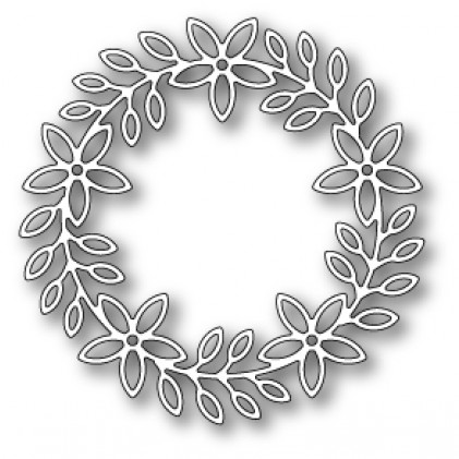 Poppy Stamps Stanzschablone - Peppini Wreath