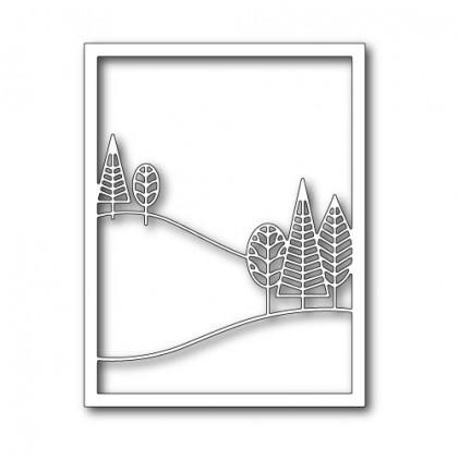 Poppy Stamps Stanzschablone - Boddington Treescape