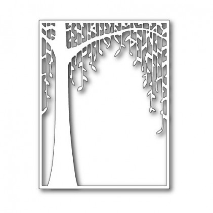 Poppy Stamps Stanzschablone - Weeping Willow Tree