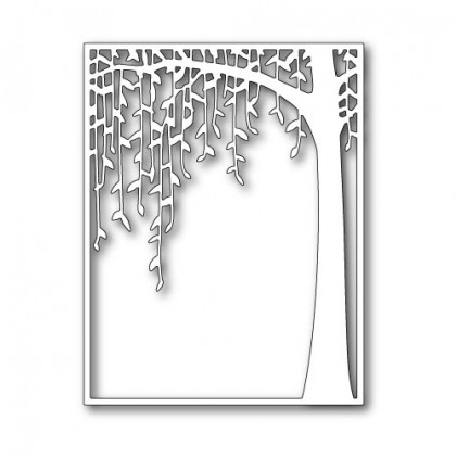 Poppy Stamps Stanzschablone - Weeping Willow Archway