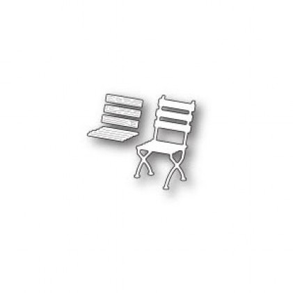 Poppy Stamps Stanzschablone - Right Café Chair