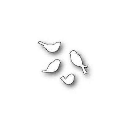 Poppy Stamps Stanzschablone - Chirping Birds