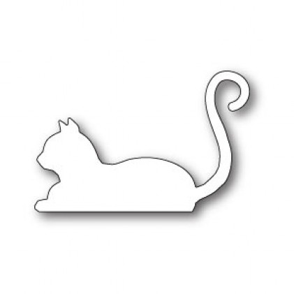 Poppy Stamps Stanzschablone - Resting Cat