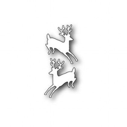 Poppy Stamps Stanzschablone - Prancing Deer