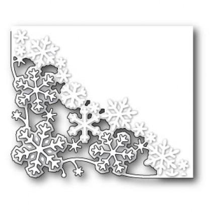 Poppy Stamps Stanzschablone - Crystalline Corner