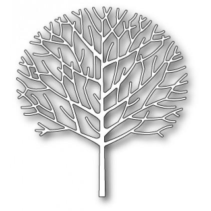 Poppy Stamps Stanzschablone - Trim Tree