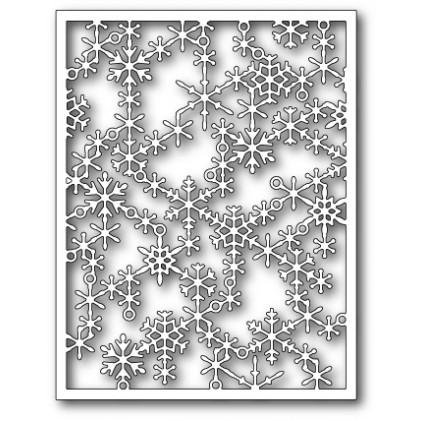 Poppy Stamps Stanzschablone - Snowflake Lattice Frame