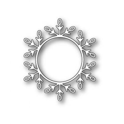 Poppy Stamps Stanzschablone - Snowflake Trinket