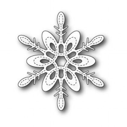 Poppy Stamps Stanzschablone - Marais Snowflake