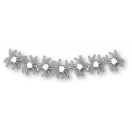 Poppy Stamps Stanzschablone - Spider Banner