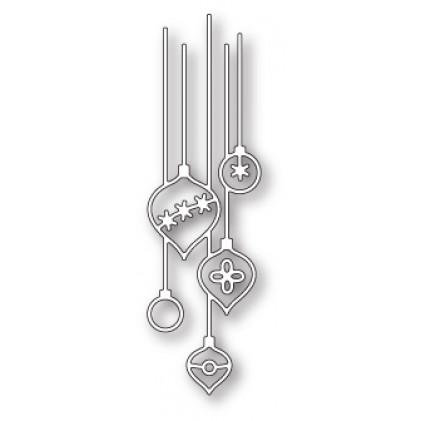 Poppy Stamps Stanzschablone - Pendant Ornaments