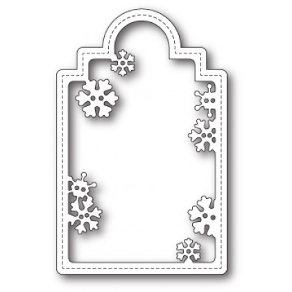 Poppy Stamps Stanzschablone - Snowflake Tag