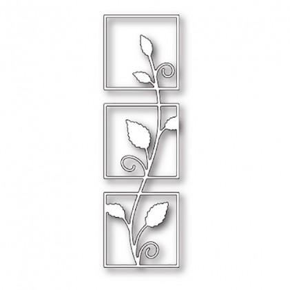 Poppy Stamps Stanzschablone - Vine Triptych