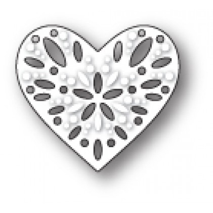 Poppy Stamps Stanzschablone - Capri Heart
