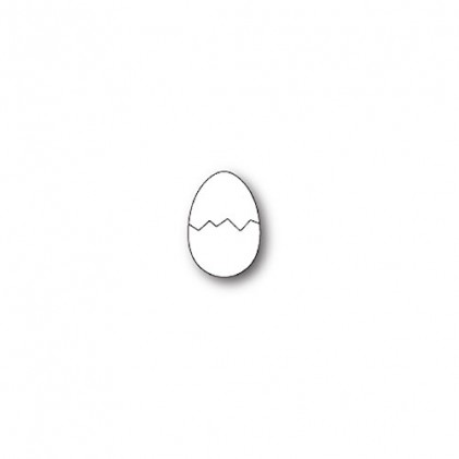 Poppy Stamps Stanzschablone - Cracked Egg