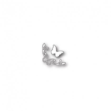 Poppy Stamps Stanzschablone - Butterfly Mini Corner
