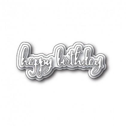 Poppy Stamps Stanzschablone - Spectacular Happy Birthday