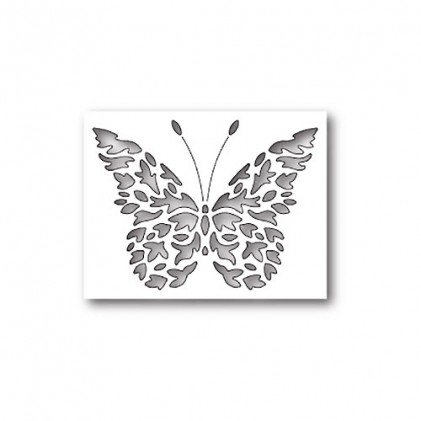 Poppy Stamps Stanzschablone - Flickering Butterfly Collage