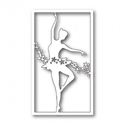 Poppy Stamps Stanzschablone - Floral Dancer Collage