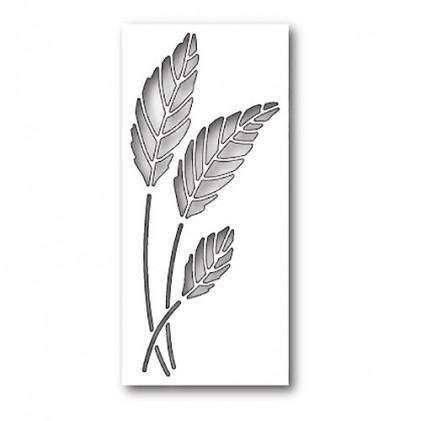 Poppy Stamps Stanzschablone - Gentle Leaf Collage