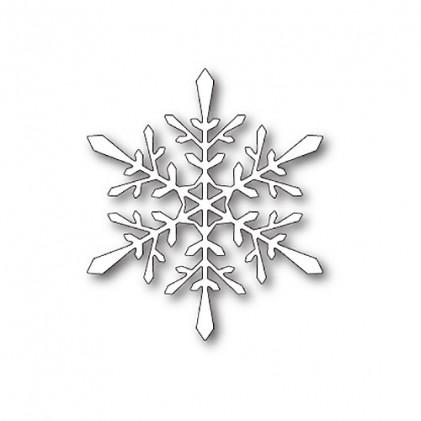 Poppy Stamps Stanzschablone - Fractal Snowflake