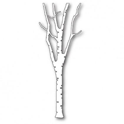 Poppy Stamps Stanzschablone - Birch Tree
