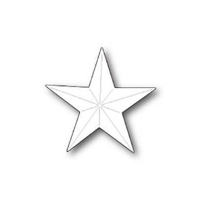 Poppy Stamps Stanzschablone - Folk Star