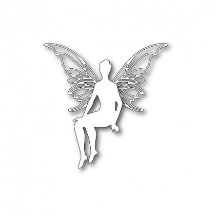 Poppy Stamps Stanzschablone - Perched Faerie